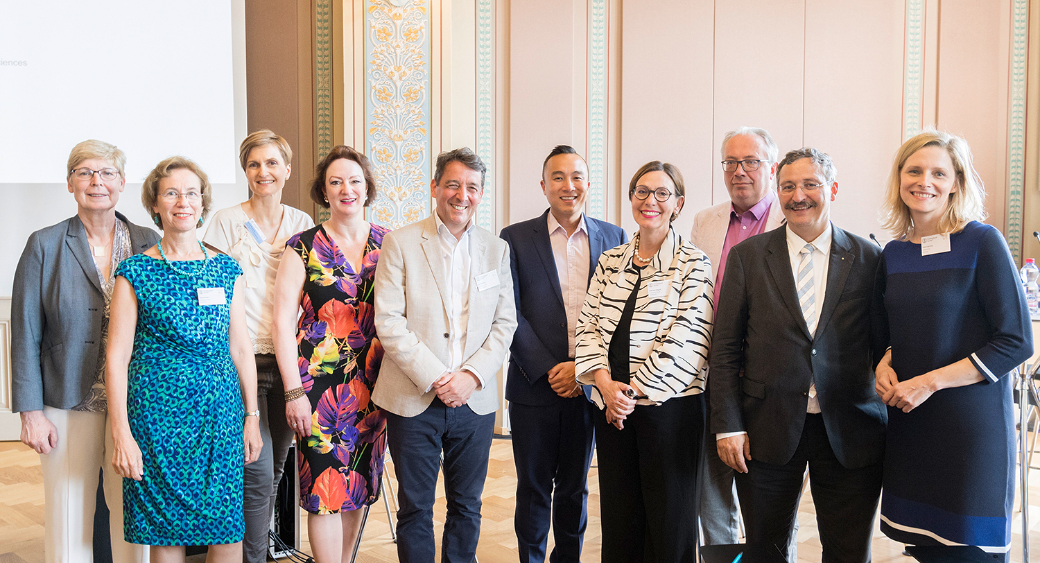 A few of the participants of the LERU Gender Conference in Zurich